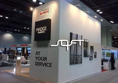 Medge Mansions , Exhibition Booth